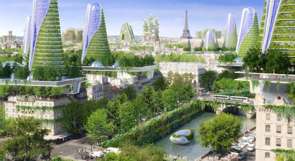 Une ville verte pour mieux vivre vie urbaine et nature for La nature en ville